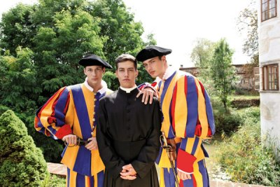 Lukas Ridgeston, Scandal In The Vatican 2 - The Swiss Guard
